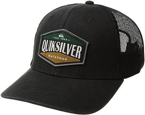 40acd781c29ca Amazon.com  Quiksilver Waterman Men s Wake Baker Cap