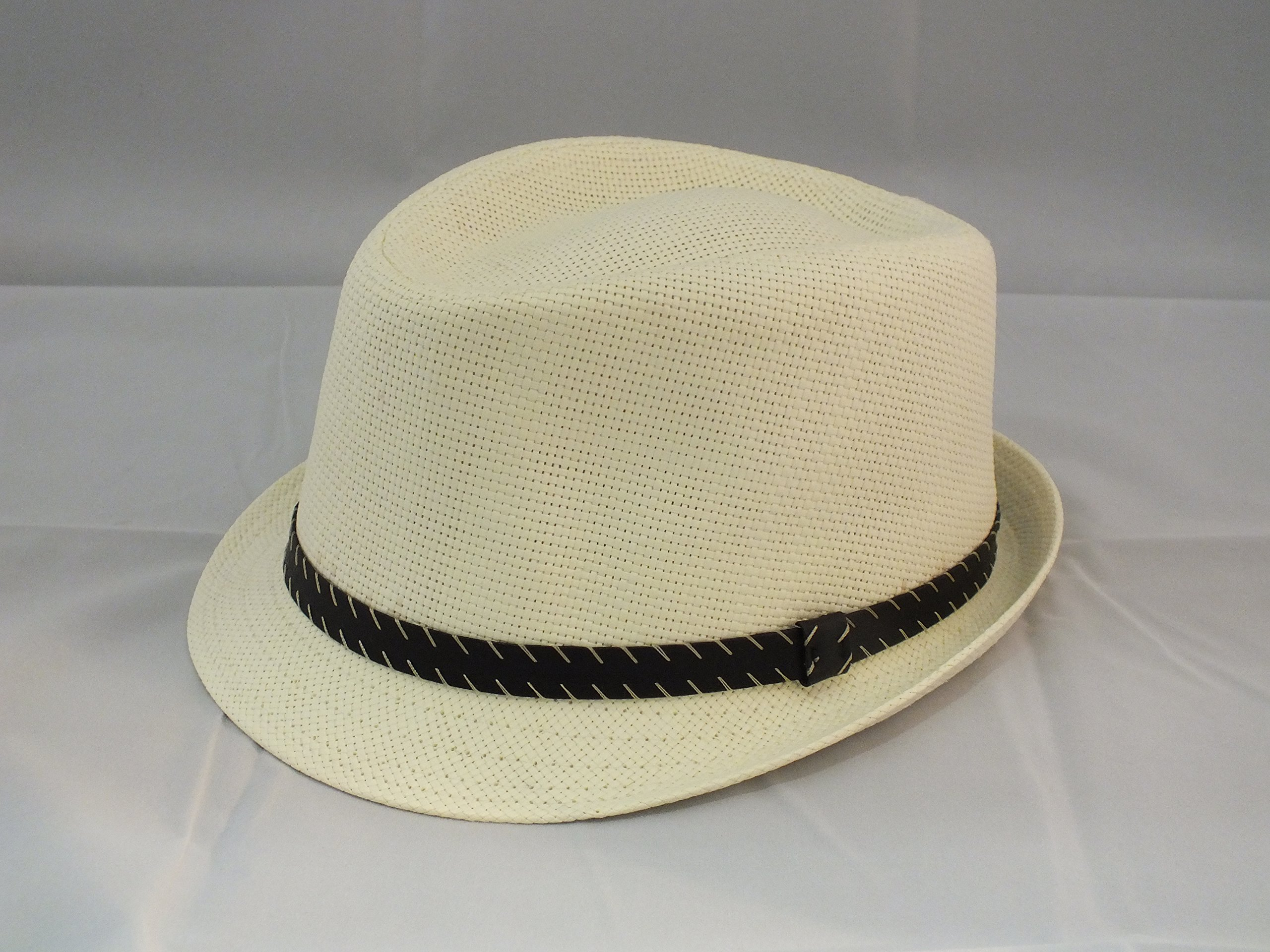 6587733b42821 Hatter The Co. Tweed Classic Cuban Style Fedora Fashion Cap Hat