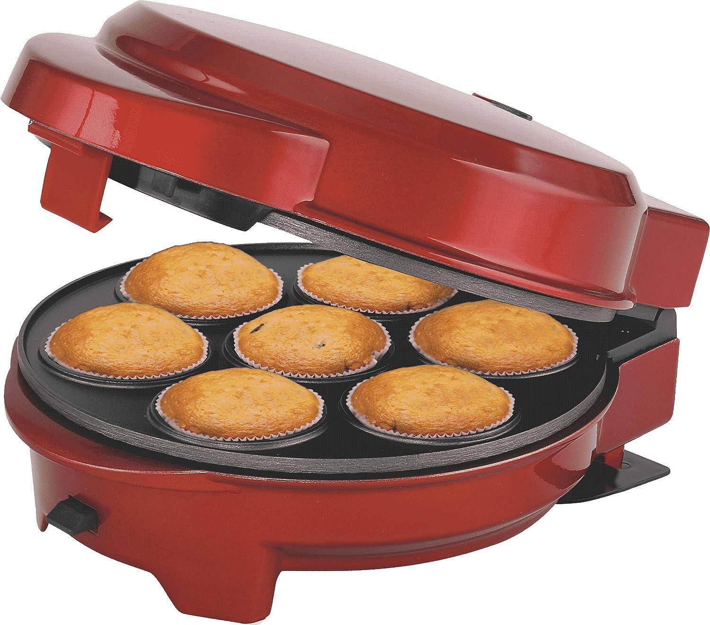 Muffin Popcake-Maker Melissa 16250072 Donut-Gerät Muffin-Backform 3in1 Donut