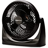 AmazonBasics 3 Speed Small Room Air Circulator Fan, 11-Inch