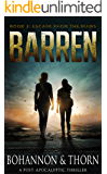 BARREN: Book 2 - Escape from the Ruins (A Post-Apocalyptic Thriller)