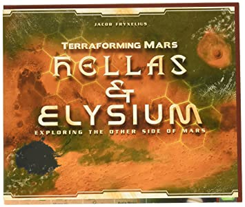 Amazon.com: Stronghold Games Terraforming as & Elysium ... on borealis basin on mars, detailed map of mars, map of a trip to mars, political map of mars, map of mars space, map of mars land, modern map of mars, map of mars with water, terraforming of mars,
