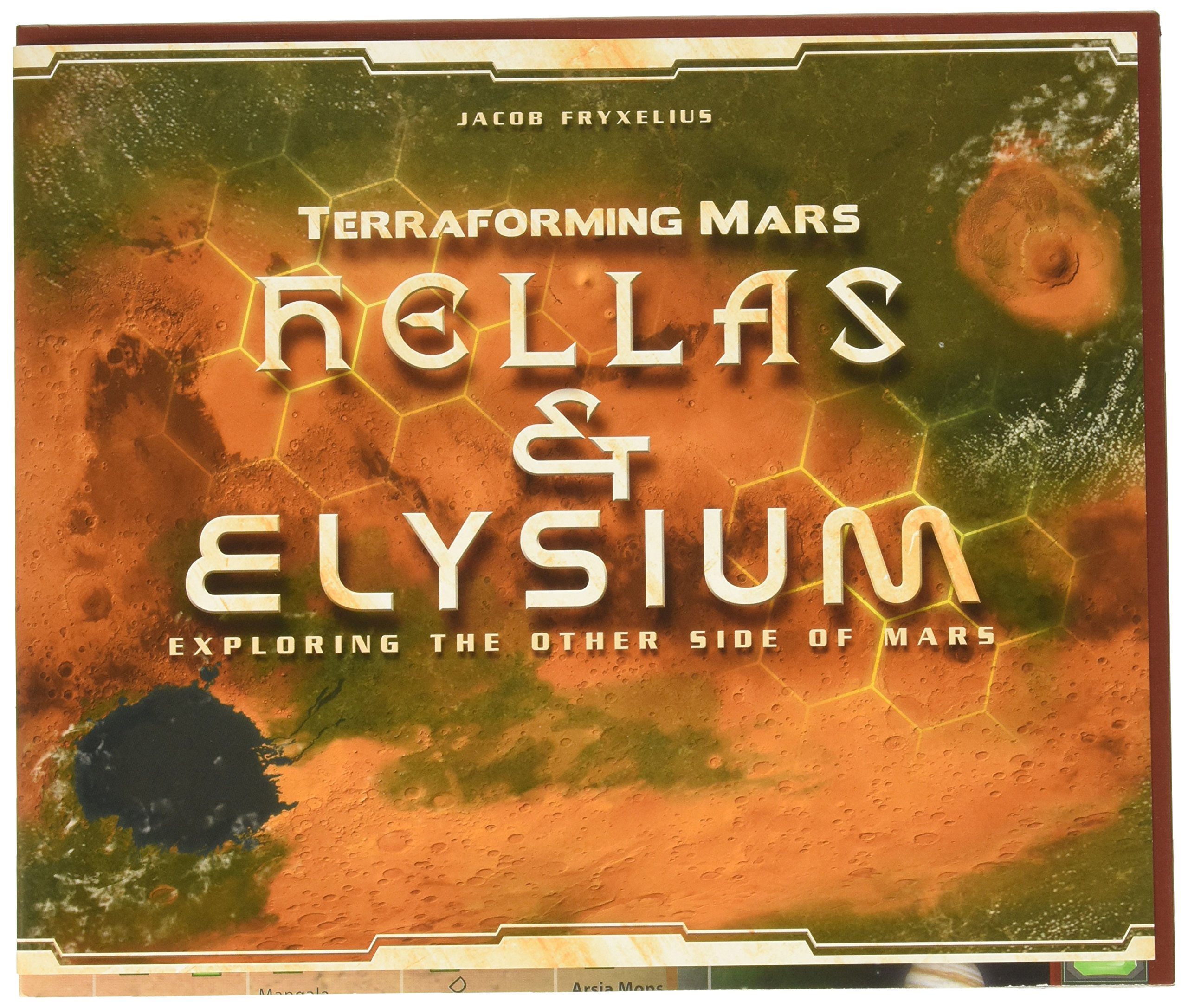 Stronghold Games Terraforming Mars Hellas & Elysium The Other Side of Mars Expansion