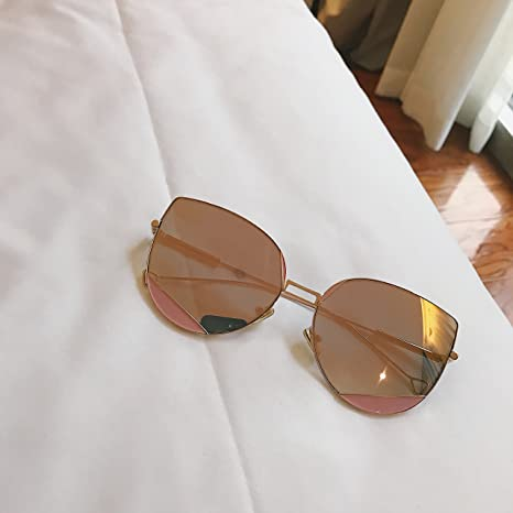 VVIIYJ Gafas de sol de metal con ojo de gato ,gafas de sol ...