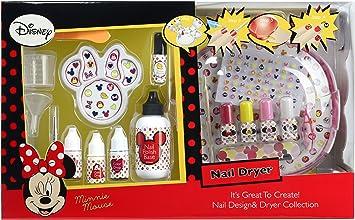 Minnie Mouse- Minnie - Disney - Kit de uñas Esmalte con secador (9703710): Amazon.es: Juguetes y juegos