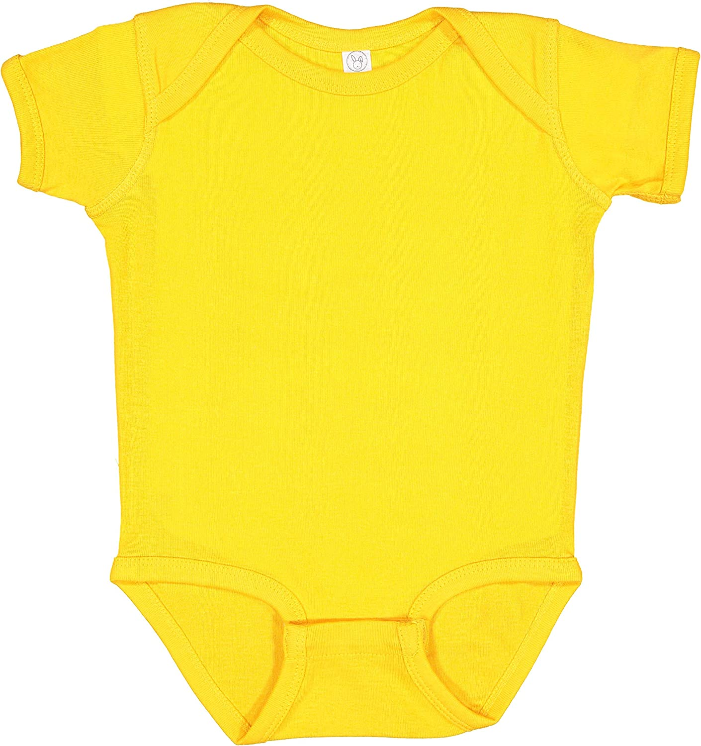 RABBIT SKINS, Baby Soft Short-Sleeve Bodysuit