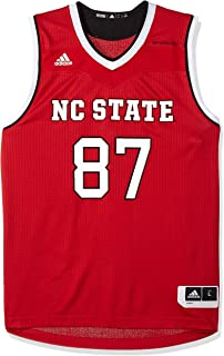 ef9549441eb0 adidas NCAA North Carolina State Wolfpack Mens Replica Basketball  Jerseyreplica Basketball Jersey