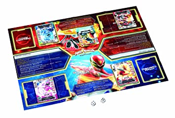 Power Rangers Megaforce - Juego de cartas Power Rangers, 2 o más jugadores (Bandai UK 23842) (versión en inglés)