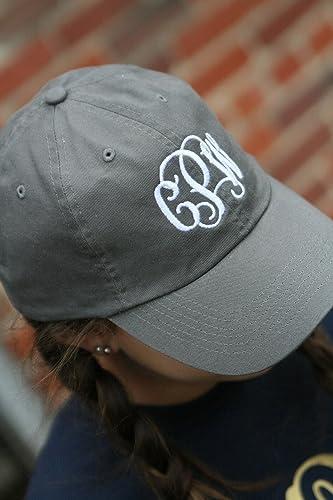 9e58ccf954617 Amazon.com  Monogrammed baseball cap  Handmade