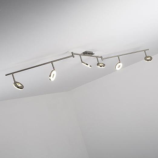 lowest price 8f634 5ea22 LED Ceiling Light Spotlight Bar 6-Bulb Spotlights Z-Shape 6x ...