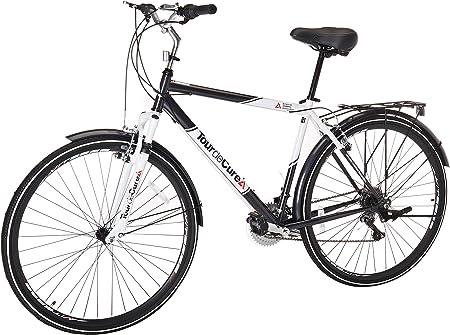 Tour de Cure Bicicleta híbrida para Hombre, 700c: Amazon.es ...