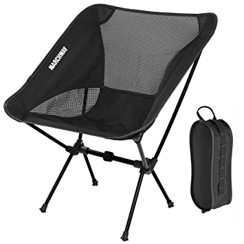 outdoor camping chair. MARCHWAY Ultralight Folding Camping Chair, Portable Compact For Outdoor Camp, Travel, Beach, Chair