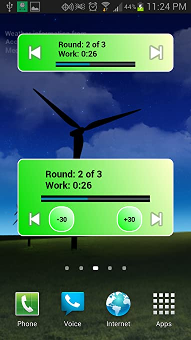 amazon com workout timer (free) appstore for android