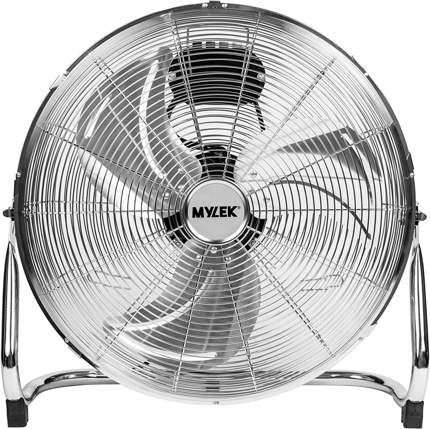 High Velocity Floor Fan 3-Speed 18-Inch Adjustable Tilt Head Powerful Air Volume
