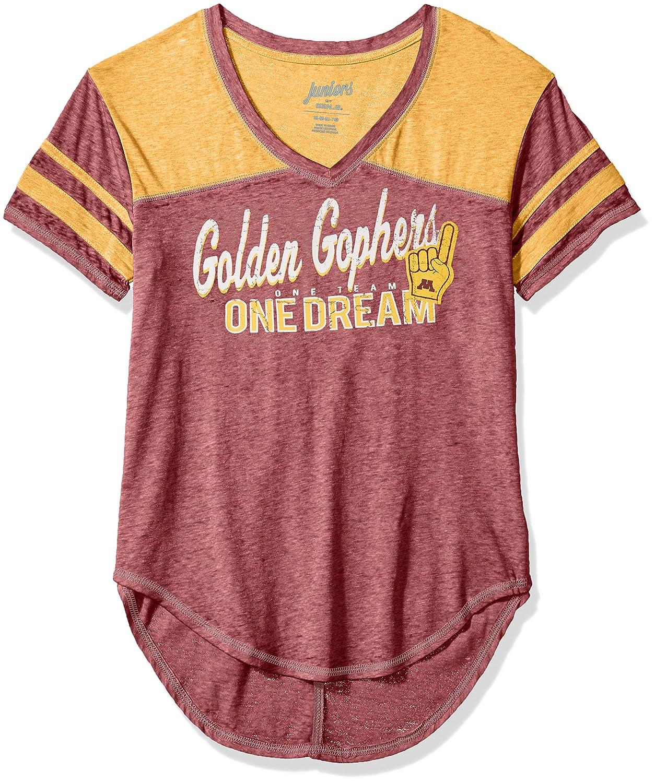 NCAA Minnesota Golden Gophers Juniors Outerstuff Vintage Short Sleeve Football Tee 11-13 Team Color Large