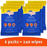 Originally Yellow Home Cleaning Wipes [Value pack of 6]