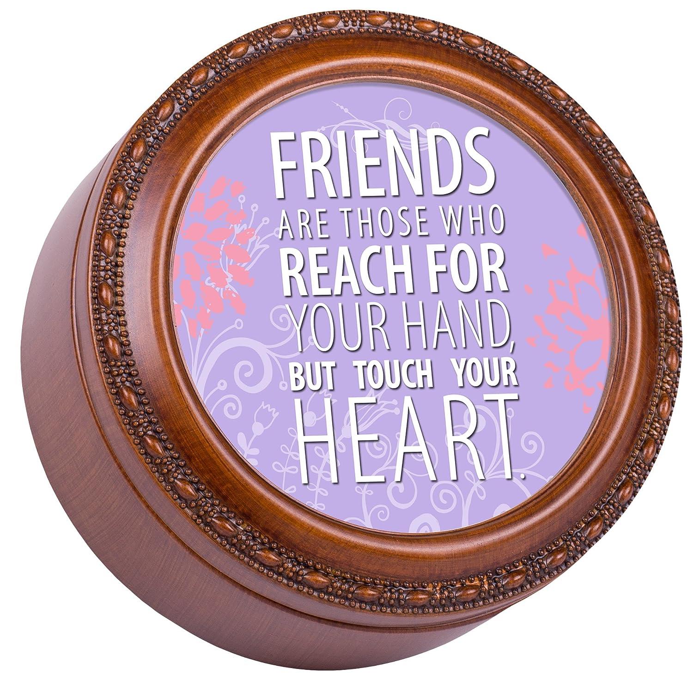 人気大割引 友達は誰か木目調仕上げラウンド音楽ジュエリーボックス – Plays – For That 's Friends What Friends Are For B00KSE0T86, サムカワマチ:3cded311 --- arcego.dominiotemporario.com