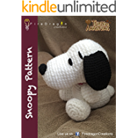 Snoopy Amigurumi Pattern (Magic Hands Individual Patterns Book 4) (English Edition)