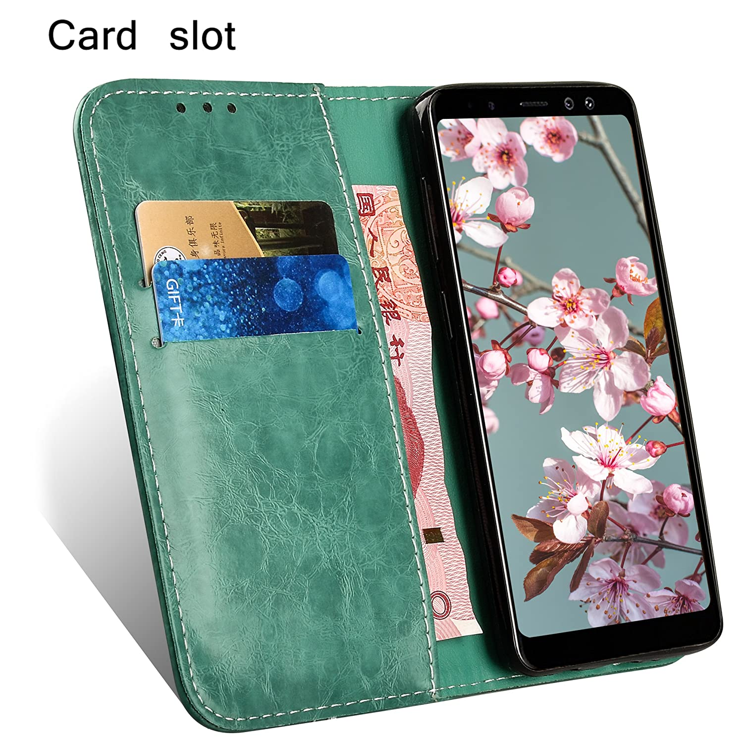Galaxy S8 Case Ultra Pu Leather Gel Wallet Cover Built Goospery Xiaomi Note 4 4x Canvas Diary Pink Credit Card Holder Book Style Front Back Housing Fit Samsung Galaxys8 Sm G9500 G950fd