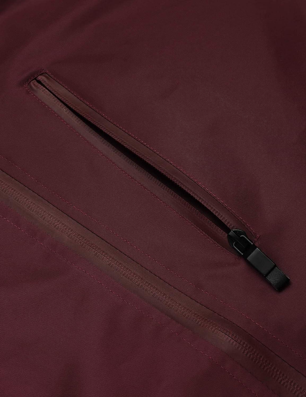 etuoji Warehouse Pakka Mens Waterproof Packable Jacket with Foldaway Hood for Sport and Rain Lightweight Breathable