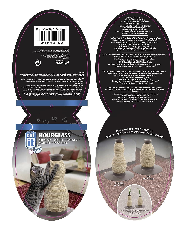 Amazon.com : Catit Style Blow Molded Scratcher, Hourglass : Scratching  Posts : Pet Supplies
