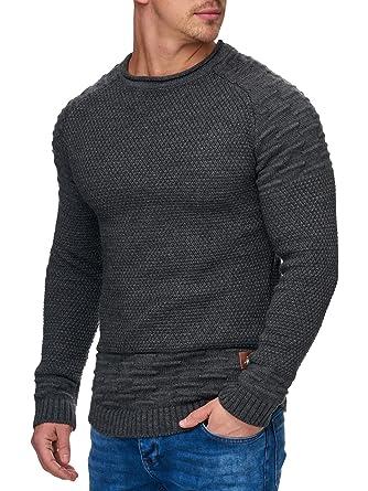 Tazzio Herren Styler Strick-Pullover 16479  Amazon.de  Bekleidung f3a99689e5