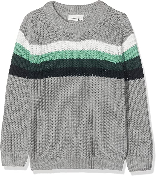 NAME IT Jungen Nbmdismo Ls Knit Pullover