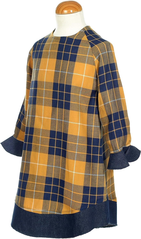 GARBANTEX - Camisa a Cuadros para niña Multicolor 38 W/32 L: Amazon.es: Ropa y accesorios