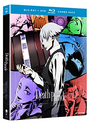 Amazon Death Parade The Complete Series Blu Ray Alex Organ