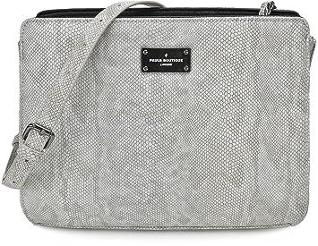 JULIA, Damen Handtaschen, Umhängetaschen, Crossbody, Schwarz, 26 x 20 x 8 cm Pauls Boutique
