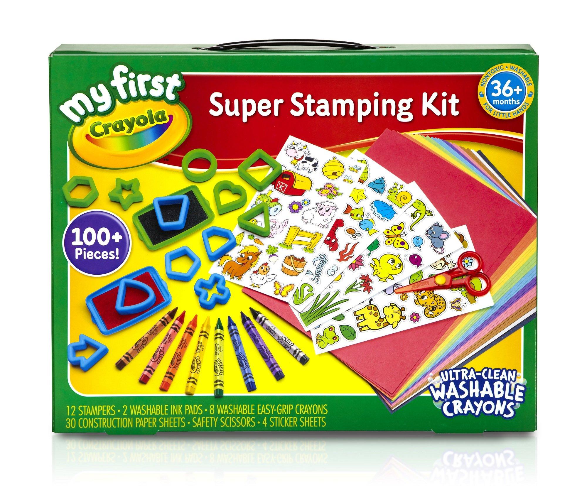 Crayola MF Super Stamping Kit