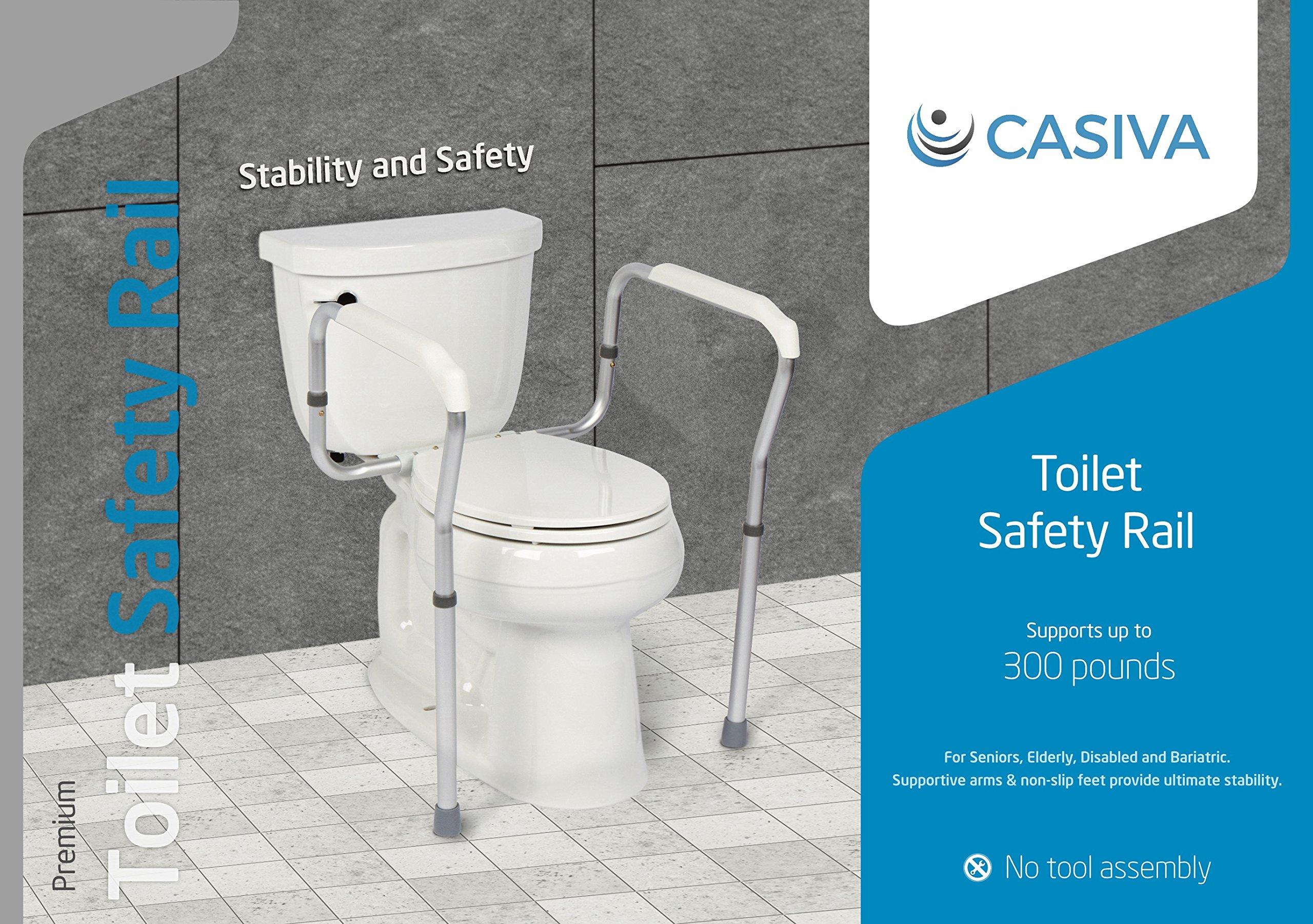 1d4172af061 Casiva Premium Toilet Safety Rail - Strong