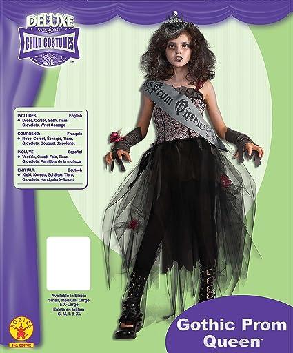 Rubies Disfraz oficial de reina del baile gótica para niña XL, multicolor: Amazon.es: Juguetes y juegos