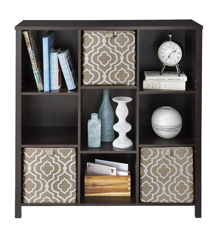 Amazon.com: ClosetMaid 16058 Premium Adjustable 9 Cube Organizer, Black  Walnut: Home U0026 Kitchen