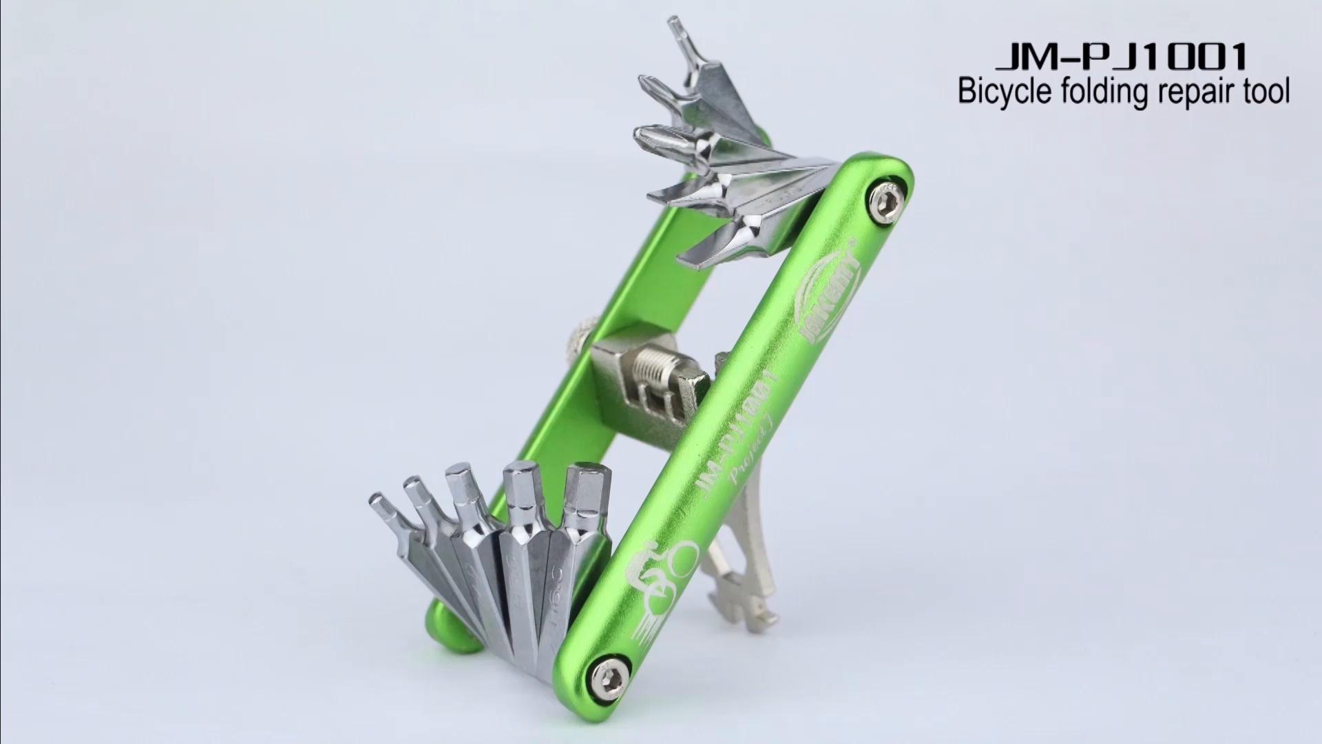 CaLeQi- Kit de Herramientas de Reparación de Bicicletas ...