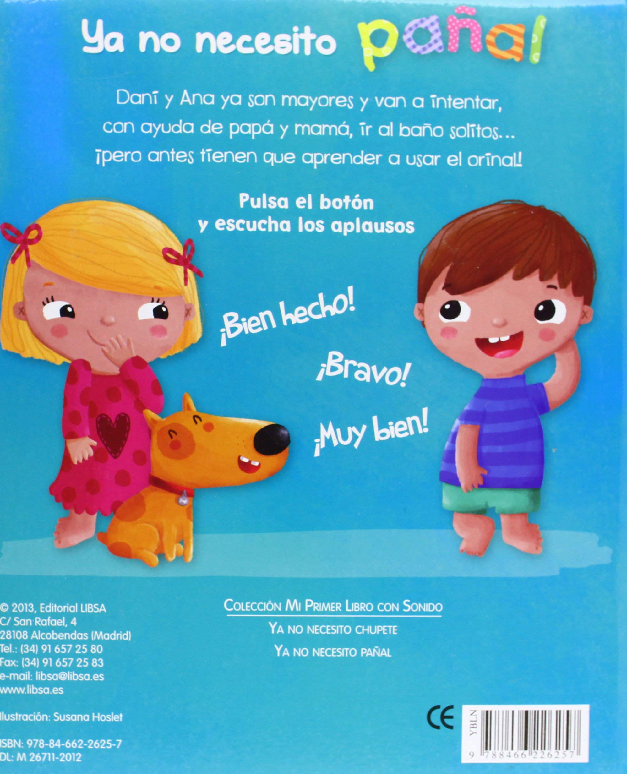 Ya no necesito pañal / I Do Not Need Diaper (Spanish Edition ...
