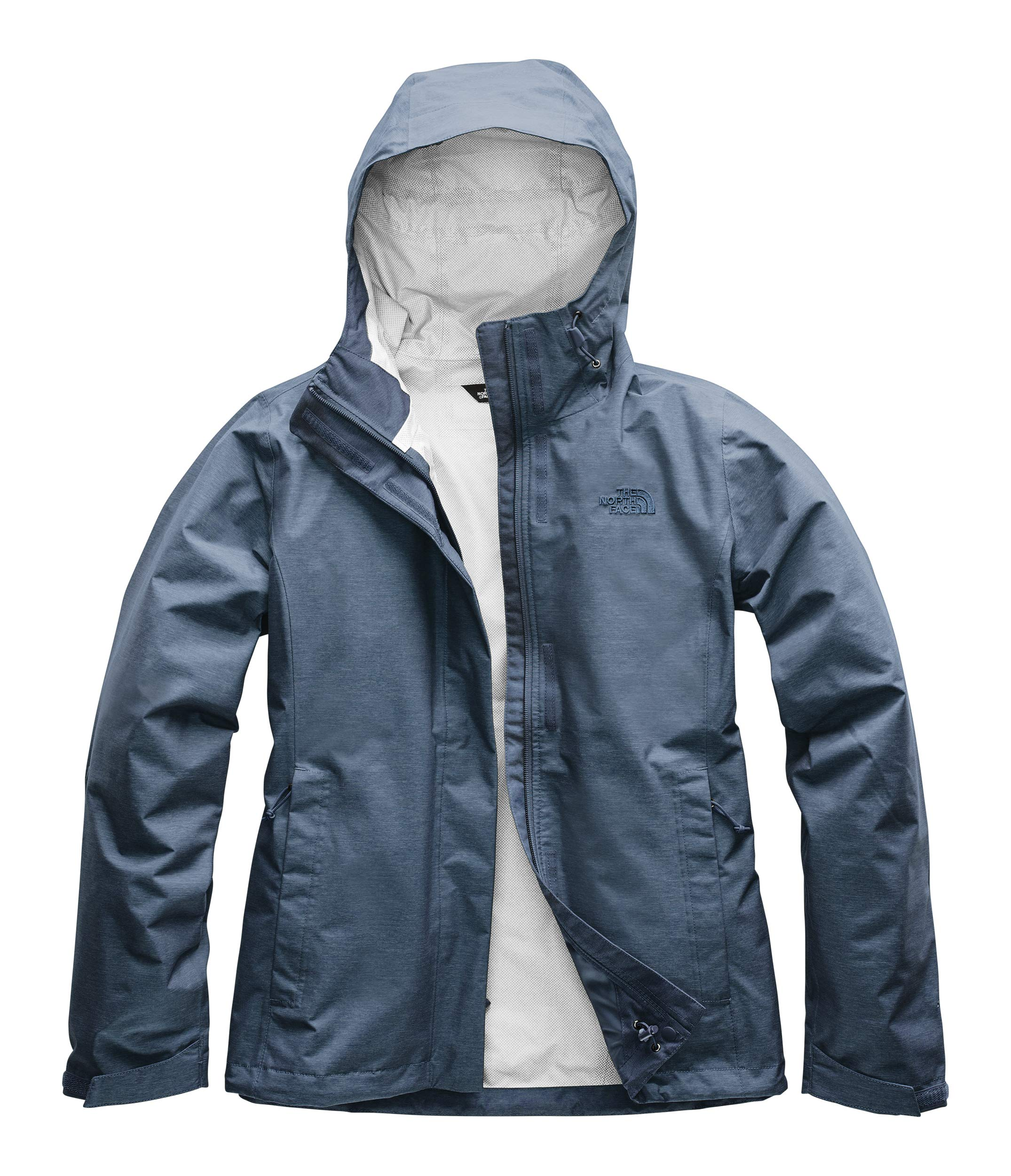 The North Face Women's Venture 2 Jacket, Blue Wing Teal Heather, Size XS by The North Face (Image #1)