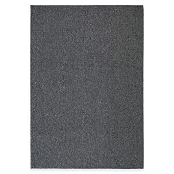 Mohawk Lockstitch Area Rug (5 Foot X 7 Foot, CHARCOAL)