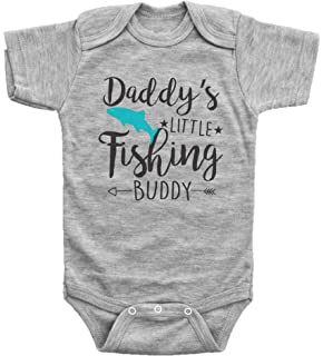 12e36031391d7 Baffle Daddy's Little Fishing Buddy/Funny Fish Onesies / 3 Colors Available