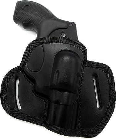 "CEBECI Tactical Nylon OWB Open Top Belt Holster for S/&W MODEL 640 REVOLVER 2/"""