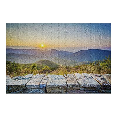 Shenandoah National Park, Virginia - Skyline Drive 9000968 (Premium 1000 Piece Jigsaw Puzzle for Adults, 20x30, Made in USA!): Toys & Games