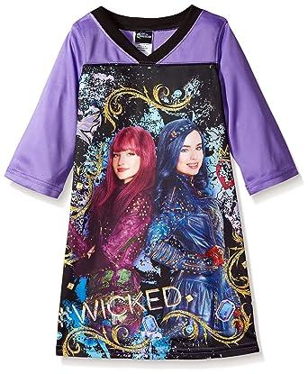 Amazon.com  Disney Girls  Little Descendants Nightgown 589d4c5e1