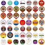 Perfect Samplers Coffee, Tea, Cider, Cappuccino & Hot Chocolate Single Serve Cups for Keurig K Cup Brewers Variety Pack…