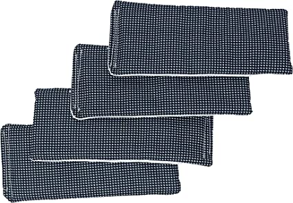 Britches Belly Bands Gingham Reusable Diaper Liners Value 4 Pack for Use with Barkertime Washable Dog Diapers Barkertime Reusable Dog Diaper Liners Male Wraps