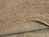 Ottomanson Soft Cozy Color Solid Shag Area Rug