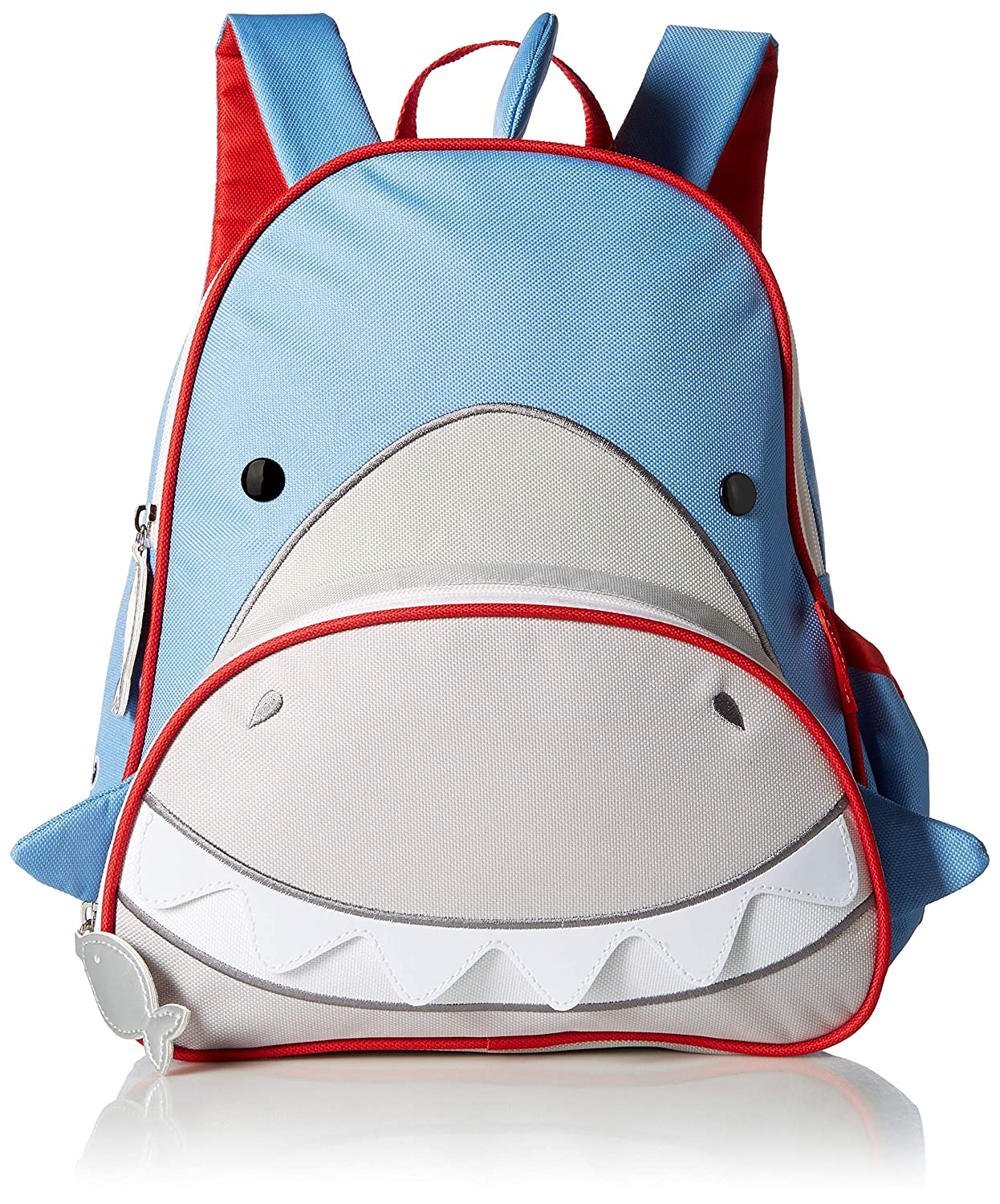 Skip Hop Toddler Backpack, 12 Shark School Bag, Multi
