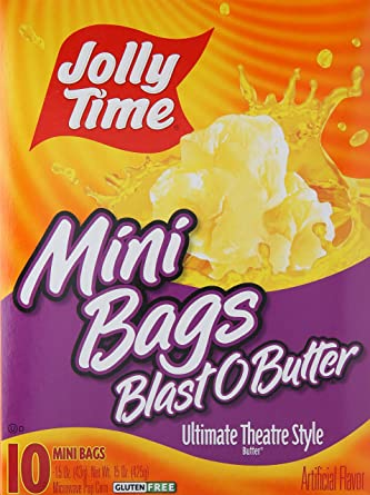 Jolly Tiempo, Blast o mantequilla Mini Bolsas Microondas ...