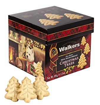 Walkers Shortbread Mini Shortbread Christmas Trees 3 5 Ounce