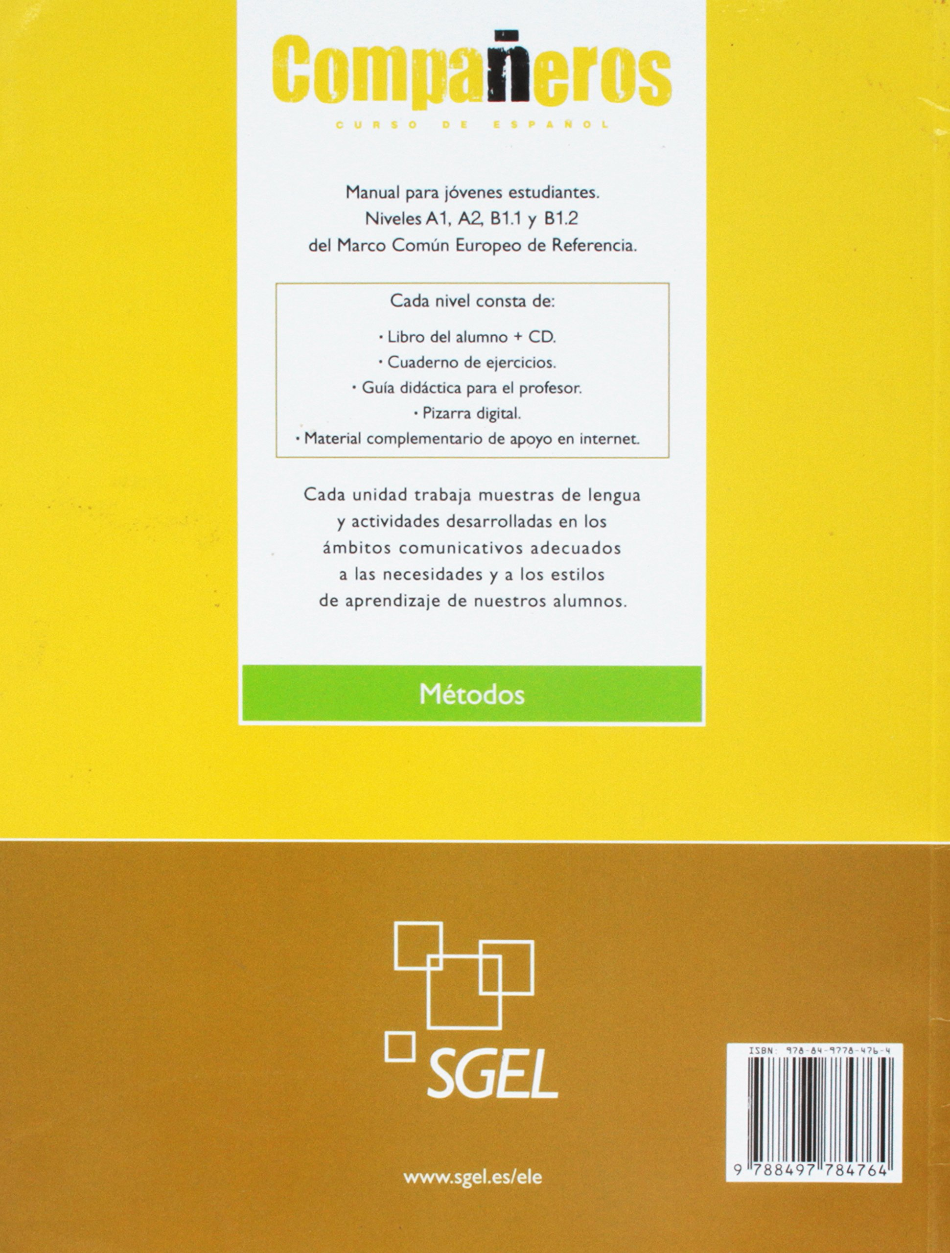 Companeros 3: Exercises Book (Spanish Edition): Francisca ...