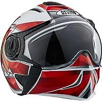 Studds Full Face Helmet Downtown D3 (White N2, L)